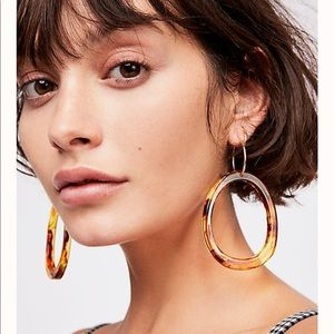 Marbella Resin Hoops Earrings